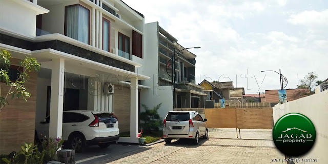 Perumahan dekat UGM jalan Kaliurang Km 8