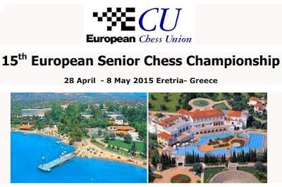 Cartel el XV Europeo Senior+65