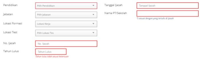 gambar cara daftar formasi cpns pi tl di sscn
