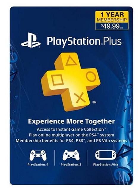 12 Month Playstation Plus Subscription Card 39 99 Reg