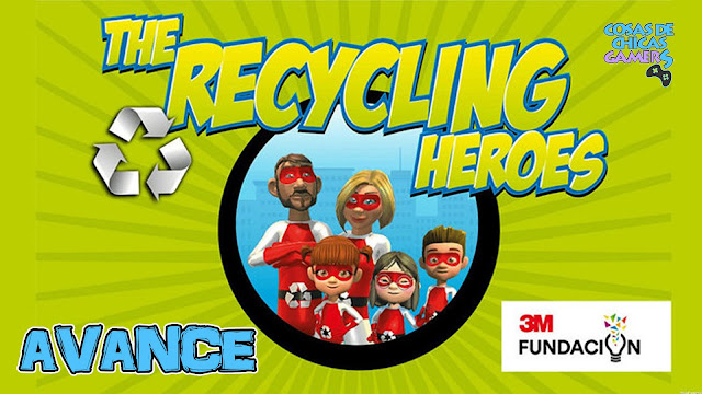 Avance the recycling heroes PS4