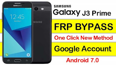 Samsung J3 Prime FRP Bypass || Android 7.0 || One Click New Method 2020