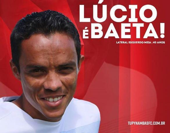Tupynambás anuncia a contratação do experiente lateral Lúcio