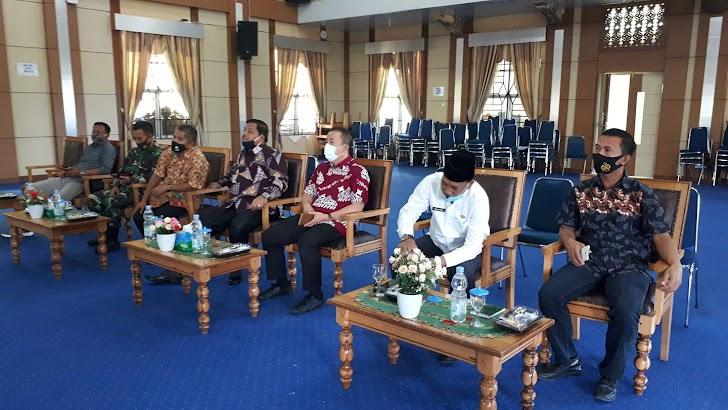 Wawako Zulhelmi Ikuti Rapat bersama Menkopolhukam, Mendagri, KPU, Bawaslu