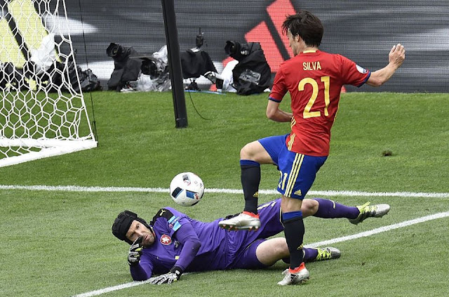 Euro Cup 2016 : Spain vs Czech Republic