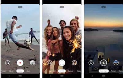 Google Camera aplikasi fotografi android