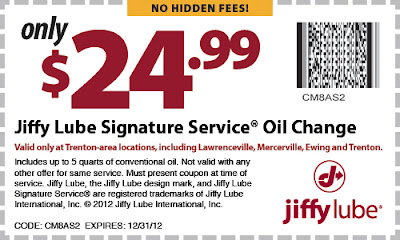 jiffy lube synthetic oil change coupon chicago