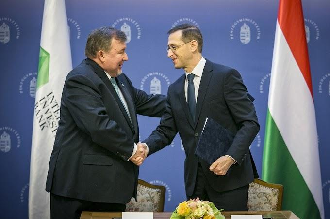 Varga: Hazánk pénzügyi szerepét erősíti a Nemzetközi Beruházási Bank budapesti székhelye