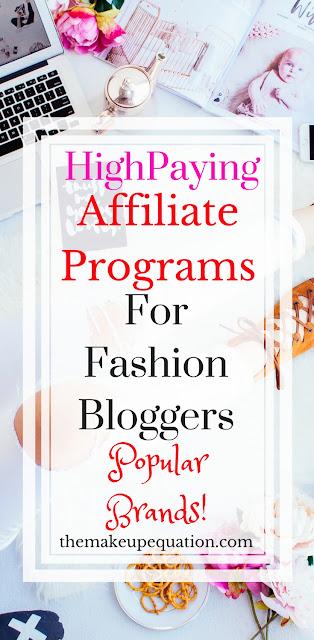 10 Fashion Affiliate Programs