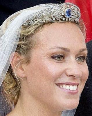 sapphire tiara luxembourg grand duchess marie adelaide princess marie gabrielle nassau