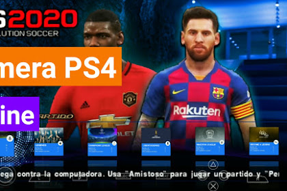 (New) PES 2020 PPSSPP Camera PS4 Android Offline 600MB Best Graphics Kits 2020 & Transfers Update