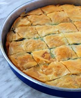 My Big Fat Greek Cookbook spinach pie