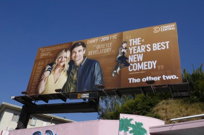 Other Two season 1 Emmy FYC billboard