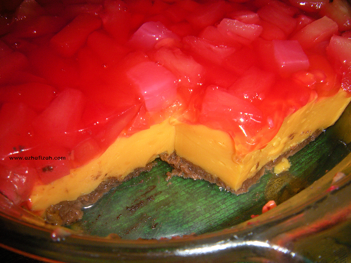 Resepi Puding Trifle Simple