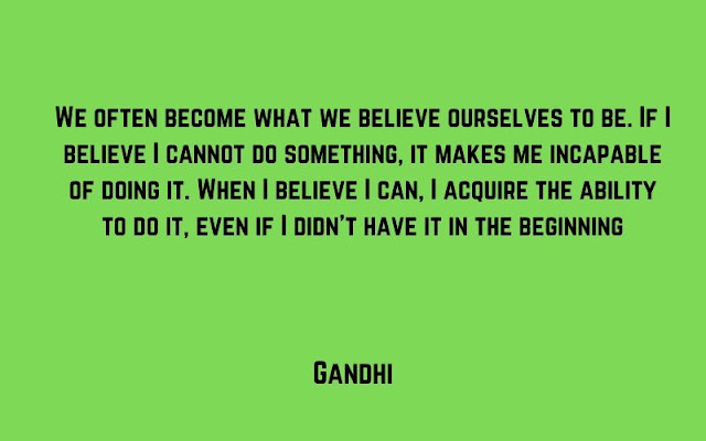 law of attraction quotes by Gandhi