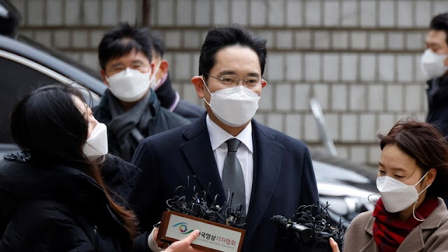 Samsung heir Lee Jae Yong sentenced to prison for bribery and embezzlement