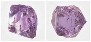 diamante roxo encontrado na Sibéria - Rússia