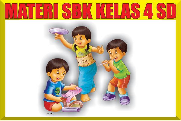 Materi Pelajaran SBK Kelas 4 SD/MI Semester 1/2 Lengkap