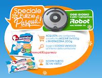 Logo  Invernizzi ''Pulizie di Pasqua'': vinci 30 aspirapolvere iRobot Roomba