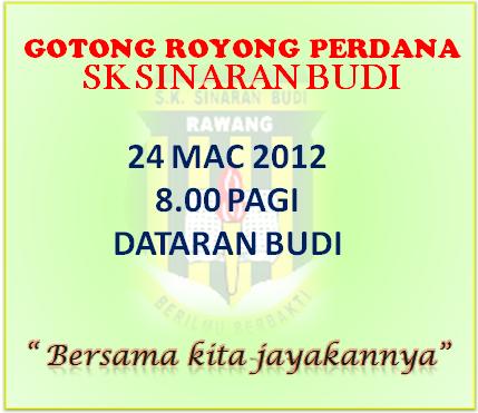 Sk Sinaran Budi Jemputan Program Gotong Royong Perdana