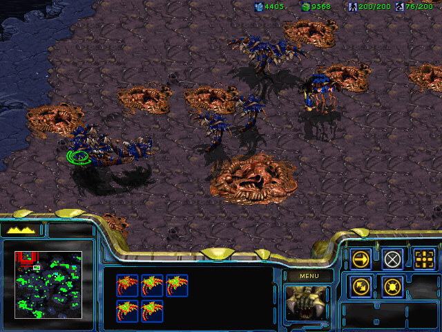 StarCraft: Brood War Mission 6: Fury of the Swarm
