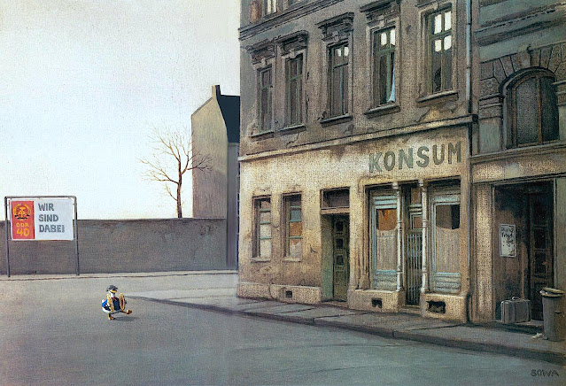 Michael Sowa, a parade of one