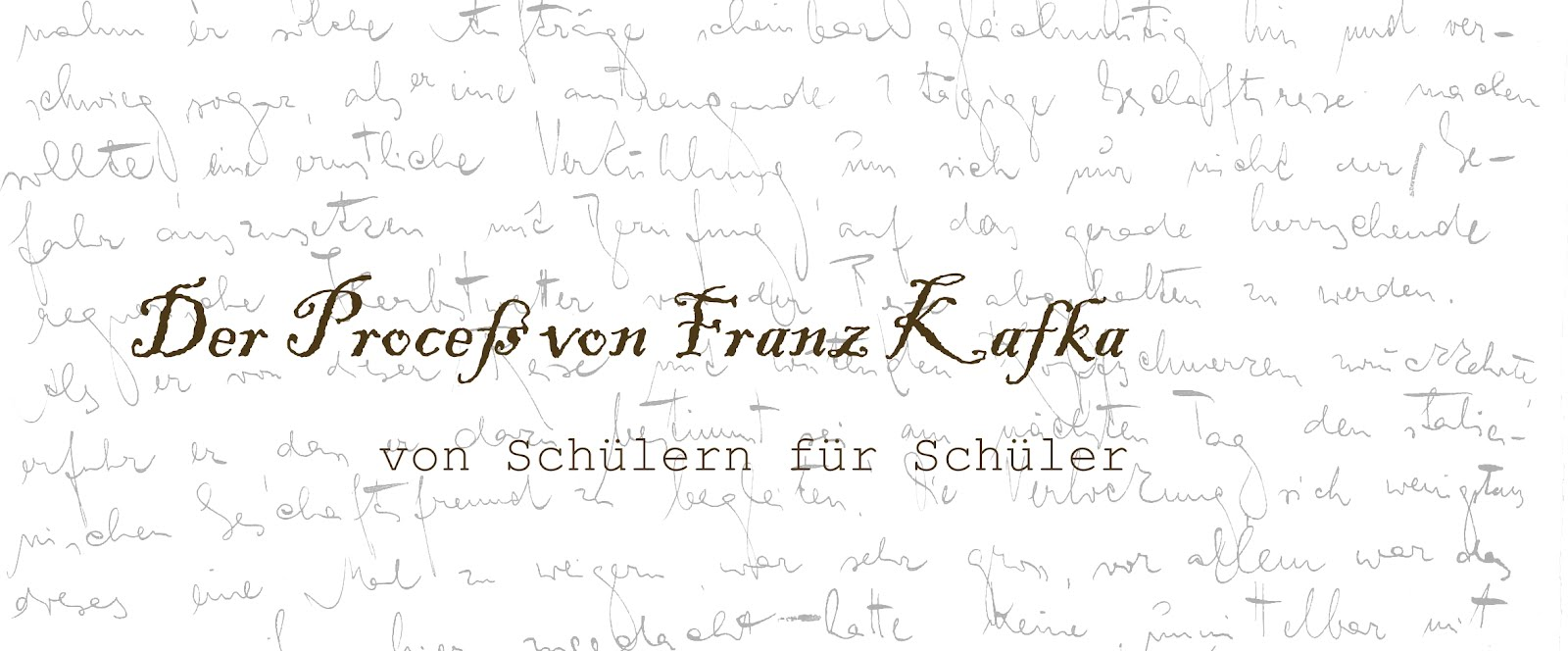 Kafka Der Proceß Biografische Interpretation