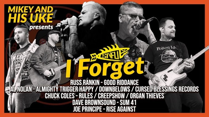 "Good Riddance, Sum 41, Rise Against memebers cover SNFU's ""I Forget"""