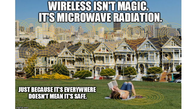 """Another Article Dismisses ElectroHyperSensitivity (EHS) Without Mentioning that EHS is the Same Thing as """"Microwave Sickness"""" Discovered in the 1950s  Wireless-radiation-not-safe-1024x589"""