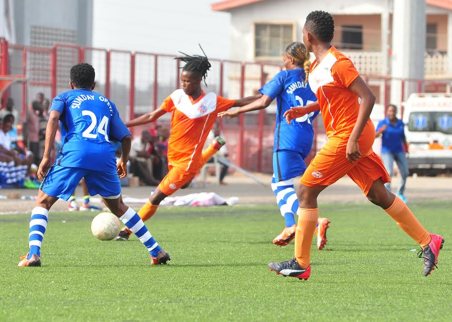 Image result for Women's a League : Edo Queens face Confluence Queens