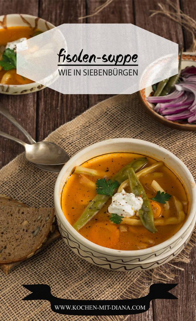 Siebenbürgische Bohnen Suppe