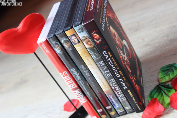 Fantasyfilme - DVD Sammlung - Kampf der Filmgenre - Harry Potter - Catching Fire - Maze Runner