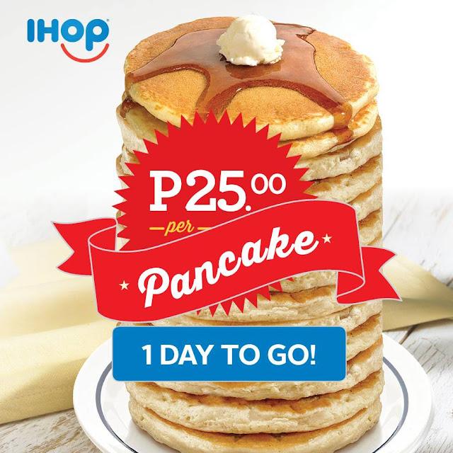 ihop pancake promo