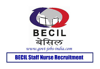 BECIL Staff Nurse Recruitment
