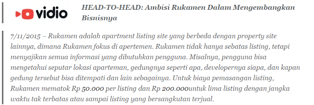 Website Vidio Meliput Rukamen - Blog Mas Hendra