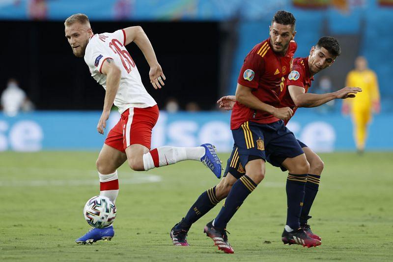 موعد مباراة سلوفاكيا وإسبانيا اليوم