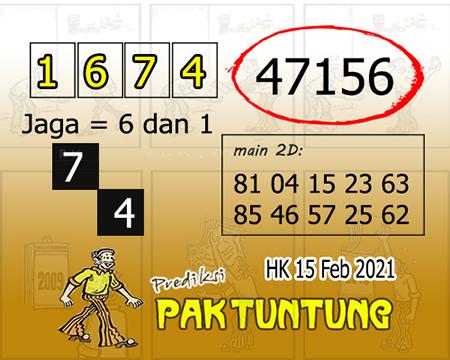 Prediksi Pak Tuntung Hk Senin 15 Februari 2021