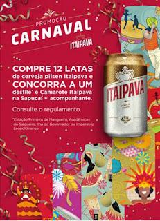 Promoção Carnaval Itaipava