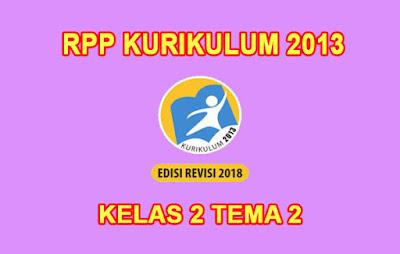 download rpp kelas 2 tema 2 k13 pdf tahun 2019 2020