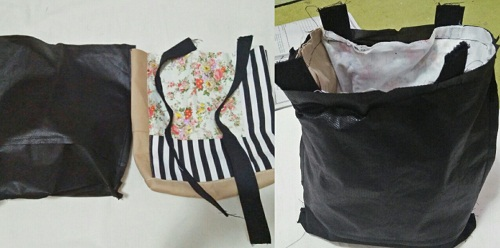 tutorial tote bag perca