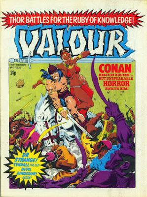 Valour #17, Conan the Barbarian