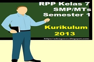 RPP Bahasa Sunda Kelas 7 SMP/MTs Semester 1 K-13 Revisi ...