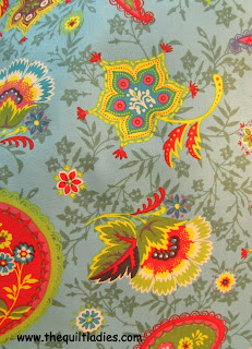 Quilt Fabric for Quilt Pattern Block of the Month 2013