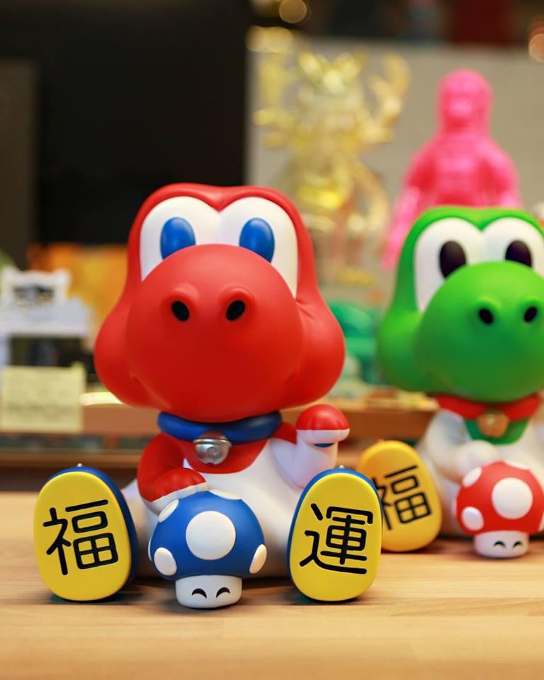Maneki-Dino (Red Edition) by Juce Gace x Mighty Jaxx (For