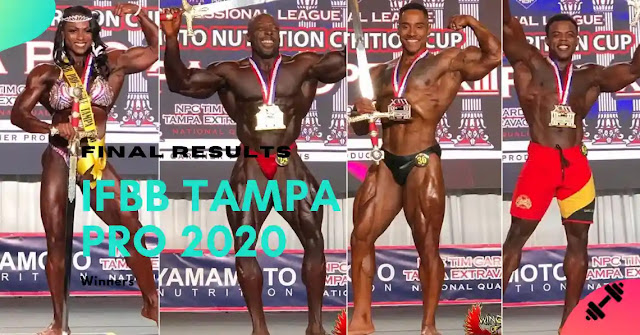 IFBB Pro Tampa Pro 2020 Results