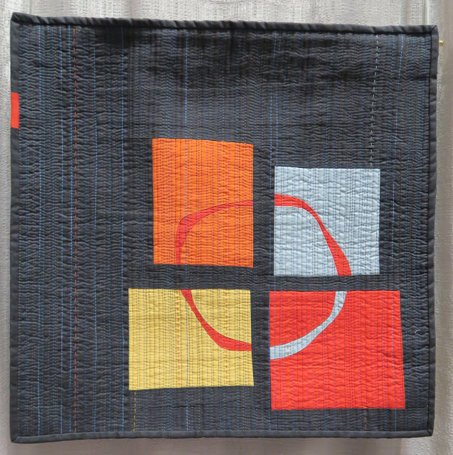 Quiltcon 2019 - Too soon to tell by Kathy Cook