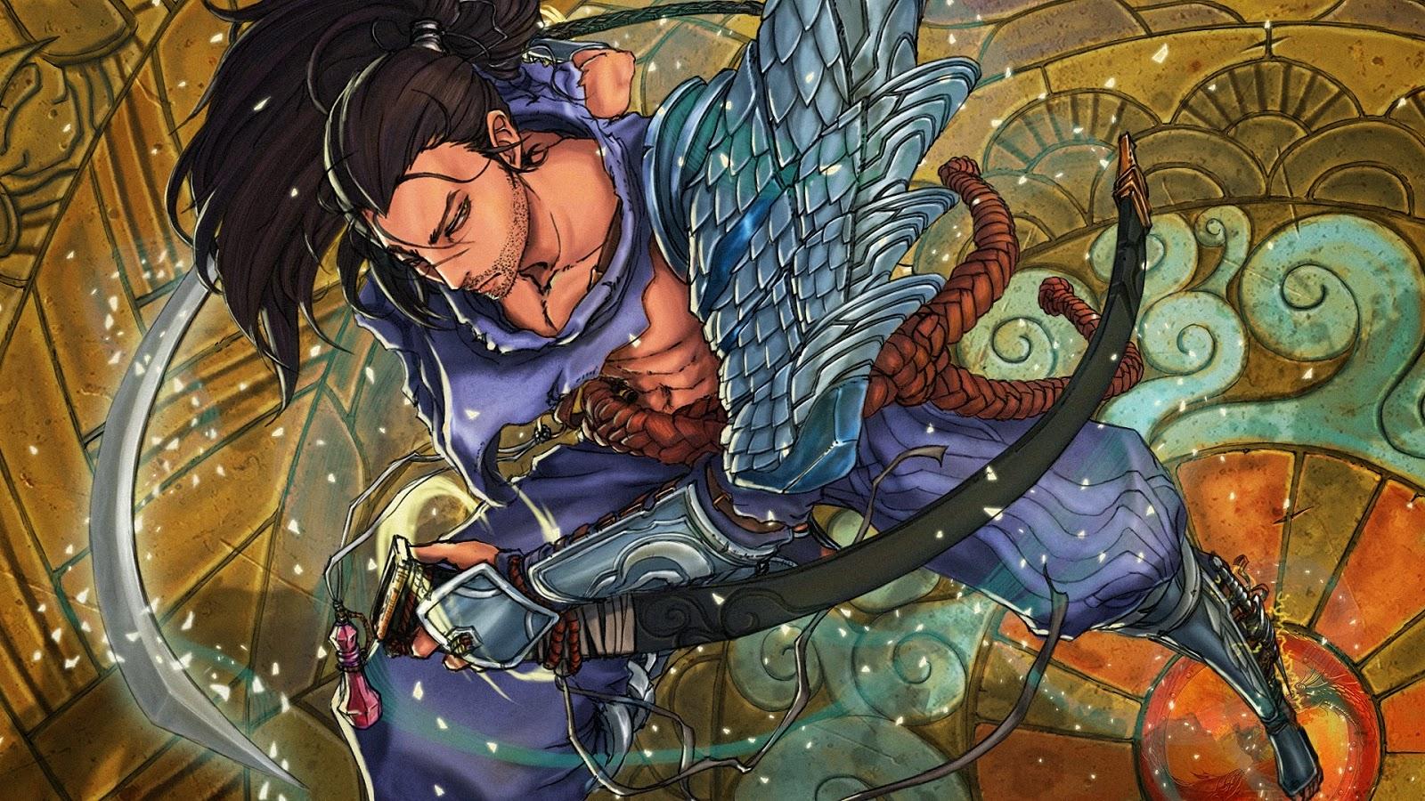 League Of Legends Yasuo Wallpaper: Yasuo League Of Legends Wallpaper, Yasuo Desktop Wallpaper