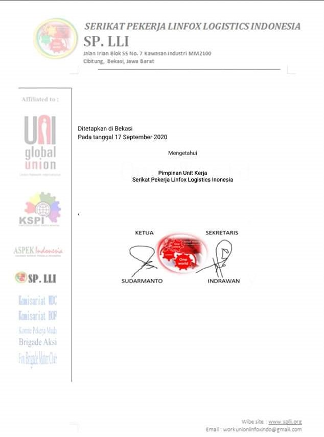 Pemberian Bantuan Sosial bagi Anggota yang terdampak COVID-19