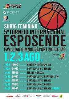 Στην Πορτογαλία η Εθνική κορασίδων για το τουρνουά Esposende με Πορτογαλία και Ισραήλ