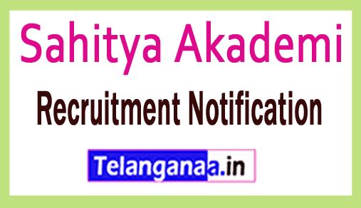 Sahitya Akademi Recruitment Notification